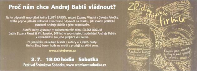 Proč nám chce Andrej Babiš vládnout?